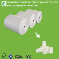 paper cup paper with one side PE coated Manufactures