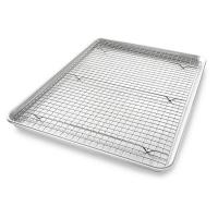 Buy cheap Stainless Steel Wire Mesh Baking Tray , Bakeable Cooling Rack Set from wholesalers