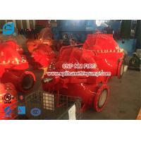 UL / FM 2000gpm @ 135-170PSI Diesel Engine Driven Fire Pump Set With Single Stage Fire Water Pump Used In Building Manufactures
