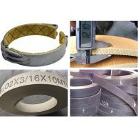 Quality Flexible Brake Band Lining Woven Roll Lining With Brass Wire Reinforced for sale
