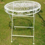 Iron Table/Bistro Table, Made of Iron, Measuring 70 x 72cm Manufactures