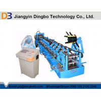 Steel C Purlins Roll Forming Machine Controled by PLC Vector Inverter Manufactures