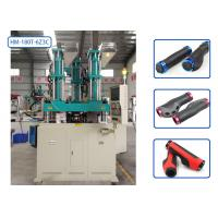 Full Automatic Vertical Injection Molding Machine 3 Colors For Mountain Bike Grips Manufactures