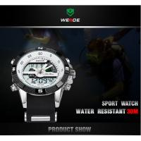 Hot new product sports silicon watch WEIDE branded watch WH1104 man watches top 2015 Manufactures