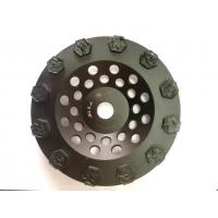 Split PCD Diamond Cup Grinding Wheel For Concrete Floor Coatings Removing Manufactures