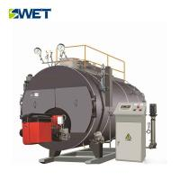 Horizontal Industrial Steam Boiler 2 Ton /H Oil / Heavy Oil Gas Fired Smoke Tube Manufactures