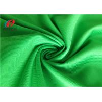 Waterproof Green Polyester Brushed Tricot Fabric Lining Fabric For Garment Manufactures