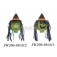 20 Cm Witch Hat Paper Halloween Decorations Battery Operated For Festival Manufactures