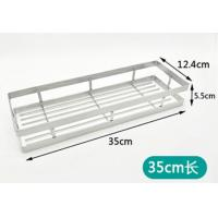 35cm Sticking Kitchen Organizer Rack SUS304 Stainless Steel Material Manufactures
