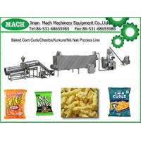 puffed corn curls snacks machine Manufactures