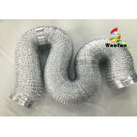 "Quality 2""~20"" Size Aluminum Flexible Duct Installation Easy Reinforced Double Layer for sale"