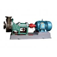 Corrosion Resistant Horizontal Single Stage Centrifugal Pump For Acid And Alkali Manufactures