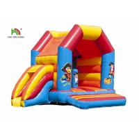 Buy cheap Outdoor Pirate Cartoon Printing Inflatable Jumper Castle With Roof For Rent from wholesalers
