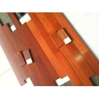 China Kempas solid wood flooring/kempas hardwood flooring on sale