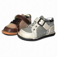 Chidren's casual shoes with PU upper and TPR outsole Manufactures