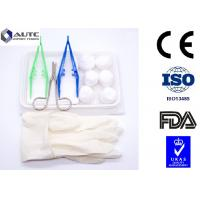 PVC Disposable Dental Examination Kit Operative Single Use Green White Yellow Manufactures