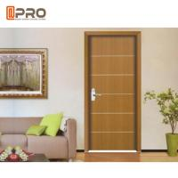 Modern Aluminum MDF Interior Doors For Home / Hotel And Apartment Manufactures