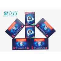 All In One Laundry Detergent Solid Thinner Sheets , 3 In One Laundry Sheets For Family Use Manufactures