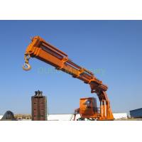 Knuckle Boom Pedestal Jib Crane AC 440V 60HZ Space Saving Less Installation Area Manufactures