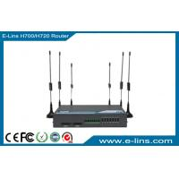WiFi VPN Sim Slot Industrial 4G / 3G Router Built In Two SIM / UIM Card Slot Manufactures