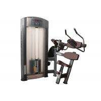 ISO Commercial Grade Gym Equipment , Seated Abdominal Crunch Fitness Exercise Machines Manufactures