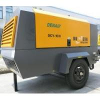 Professional Industrial Portable Air Compressor With Cummins Diesel Engine Manufactures