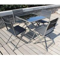 outside Garden Furniture Table and Chairs Set  Folding style Manufactures
