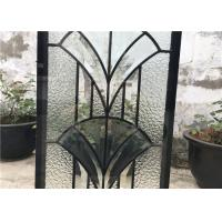 IGCC IGMA Decorative Bathroom Window Glass Clear Bevel Tempered Glass Manufactures