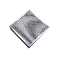H13 Deep Pleated High Temperature Air Filter Medium Filtration Grade Manufactures