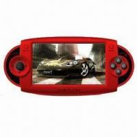 Portable Game Player, 4.3-inch touch screen, supports 3D games, 2.0MP camera, speaker, FM radio Manufactures