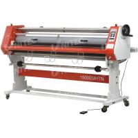Glue - Proof Paper Roll Lamination Machine , Electric Cold Roll Laminating Machine LD-1600EMHTN Manufactures