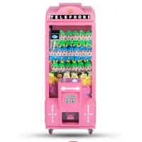 China Metal Or Wood Material Claw Crane Machine  / Commercial Stuffed Toy Vending Machine on sale