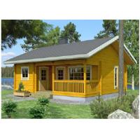 One Floor Outdoor Wooden House Chalet With 36mm 72mm 110mm Wall Manufactures