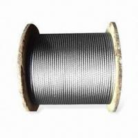 China Galvanized Steel Wire Rope for Aviation, Made of High Carbon Wire Rod on sale
