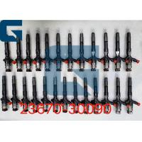 23670-30090 23670-30380 Denso Common Rail Fuel Injector Assembly / Diesel Engine Parts Manufactures