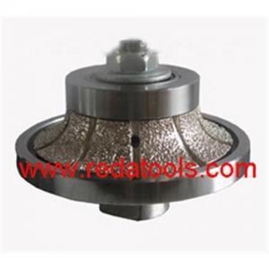 China Sell vacuum brazed hand profile wheels  half bullnose shape on sale