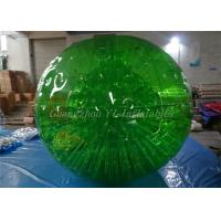 China Outdoor Inflatable Full Color Garden Life Sized Hamster Ball For Sport Games on sale