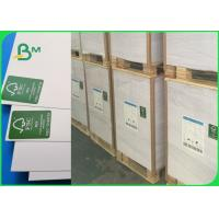 FSC Top Stiffness Smoothness Ivory Board Paper / 300g One Side Coated Folding Box Board For Drug Box Manufactures