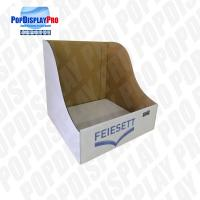 Table Top Paper PDQ Tray Display Simple Structure For Household Cleaning Brush Manufactures