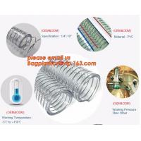 Transparent PVC Spiral Steel Wire Reinforced Pipe Floating Dredge Hose Manufactures