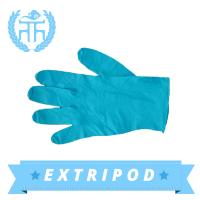 china supplier blue Examination cleanroom nitrile gloves Manufactures