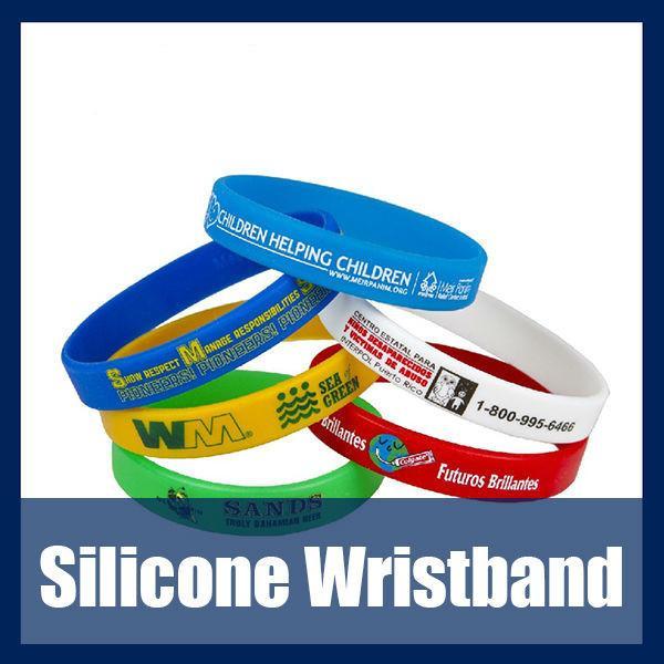 Quality Fashion silicone wristband/silicone bracelet/wrist band for sale