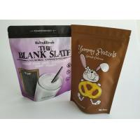 Quality Custom Stand Up Pouch Delicious Cookie Packaging Sealable Plastic Bag Gravure Printing for sale
