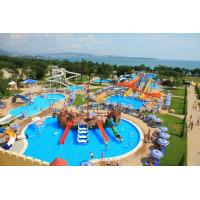 Small Interactive Family Water Playground Equipment Kids Swimming Pool Water Slide Manufactures