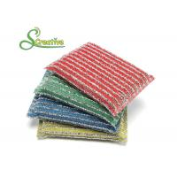 Quality SS410/SS430 Dish Cleaning Scrubber,Heavy Duty Stainless Steel Scouring Pads for sale