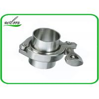 ISO 2852 Sanitary Stainless Steel Tri Clamp Fittings , Clamp Pipe Couplings For Food Industry Manufactures