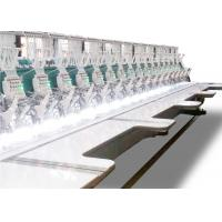 China High Speed Flat Multi Head Computer Embroidery Machine With Taping Device on sale