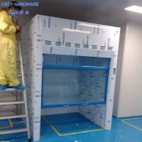 High-Level New Design Custom Made Floor Mounted Walk In Fume Hood With Microprocessor Control System Manufactures