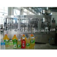 China Anti-Leaking Juice Filling Machine / Water Bottling Equipment For Oil / Drinking on sale