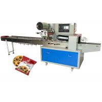 China Multi Functional Biscuit Packaging Machine For Oats Cookies Bar Accurate Cutting on sale